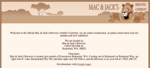 Mac & Jack's Screengrab