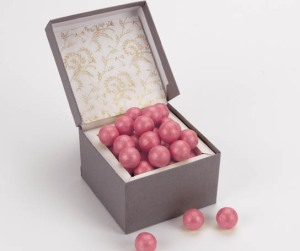 Pink Sparkling Pearls